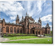 Kelvingrove Art Gallery And Museum Acrylic Print by Alan Toepfer