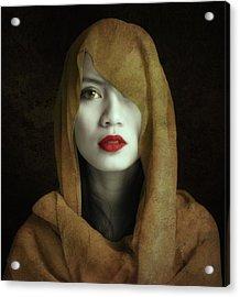 Kemuning Acrylic Print by Hari Sulistiawan
