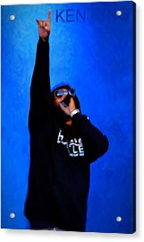 Ken Ring Acrylic Print by Tommytechno Sweden