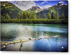 Kenai Alaska Lake Acrylic Print