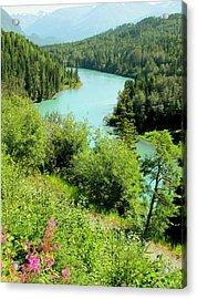 Kenai River Acrylic Print