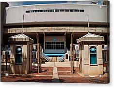 Kenan Memorial Stadium - Gate 6 Acrylic Print by Paulette B Wright