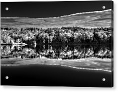 Kennebec Reflections Acrylic Print