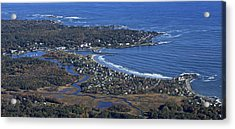 Kennebunk, Maine Acrylic Print by Dave Cleaveland