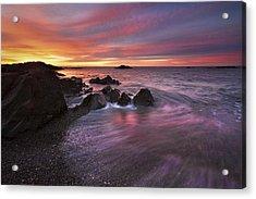 Kennebunk Sunrise Acrylic Print by Eric Gendron