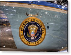 Kennedy Air Force One Acrylic Print
