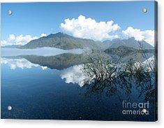 Kennedy Lake Acrylic Print by Frank Townsley