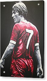 Kenny Dalglish - Liverpool Fc 2 Acrylic Print