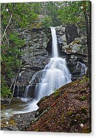 Kent Falls State Park Ct Waterfall Acrylic Print by Glenn Gordon