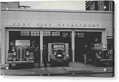 Kent Fire Department 1979 Acrylic Print by Retro Images Archive