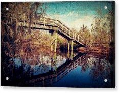 Kenta Canal Acrylic Print