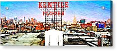 Kentile Floors Acrylic Print