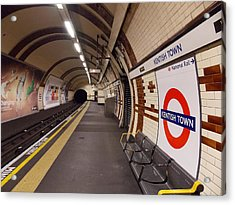 Kentish Town Tube Station Acrylic Print