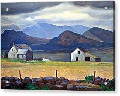 Kent's Adirondacks Acrylic Print