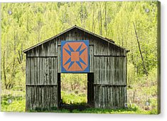 Kentucky Barn Quilt - Happy Hunting Ground Acrylic Print