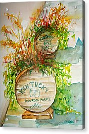 Kentucky Bourbon Barrels Acrylic Print