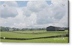 Kentucky Farm Acrylic Print by Kay Pickens