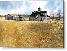 Kentucky Farm Acrylic Print by Tom Wooldridge