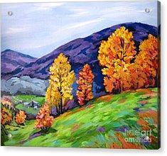Kentucky Hillside Acrylic Print