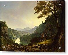 Kentucky Landscape 1832 Acrylic Print