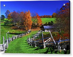 Kentucky Settlement Acrylic Print by Paul W Faust -  Impressions of Light