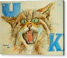Kentucky Wildcats Acrylic Print