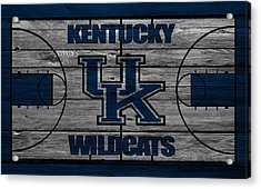 Kentucky Wildcats Acrylic Print by Joe Hamilton