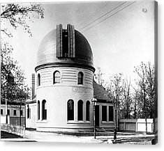 Kenwood Observatory Acrylic Print by Yerkes Observatory, University Of Chicago, Courtesy Emilio Segre Visual Archives/american Institute Of Physics