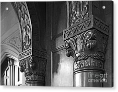 Kenyon College Great Hall  Acrylic Print by University Icons