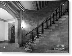 Kenyon College Peirce Stairway Acrylic Print by University Icons
