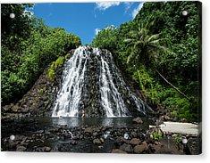 Kepirohi Waterfall, Pohnpei Acrylic Print
