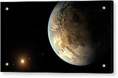 Kepler-186f Acrylic Print by Nasa/ames/seti Institute/jpl-caltech