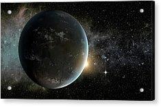 Kepler-62f Acrylic Print by Nasa/ames/jpl-caltech