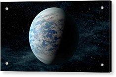 Kepler-69c Acrylic Print by Nasa/ames/jpl-caltech