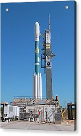 Kepler Mission Rocket Acrylic Print
