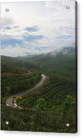 Acrylic Print featuring the photograph Kerala Tea Plantation by Sonny Marcyan