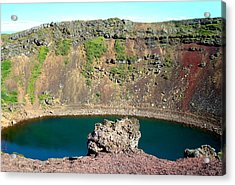 Kerio Crater Lake Acrylic Print