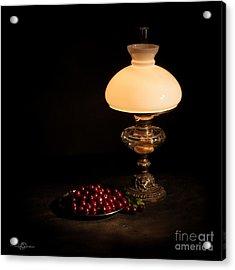Kerosene Lamp Acrylic Print by Torbjorn Swenelius