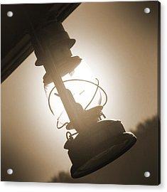 Kerosene Lantern Acrylic Print by Mike McGlothlen