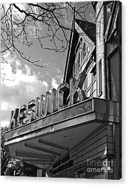 Keswick Theater Acrylic Print