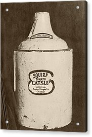 Ketchup Bottle Acrylic Print by Us National Archives