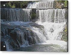 Keuka Seneca Waterfall Acrylic Print by William Norton