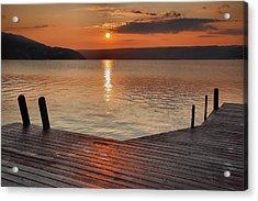 Keuka Sunrise II Acrylic Print