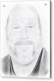 Kevin Chamberlin Portrait Acrylic Print