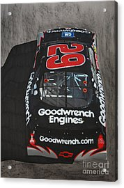Kevin Harvick Goodwrench Chevrolet Acrylic Print by Paul Kuras