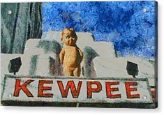 Kewpee Restaurant Lima Ohio Acrylic Print