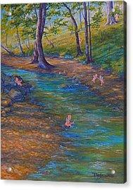 Kewpies At Bonniebrook Acrylic Print