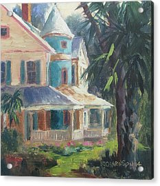 Key House Acrylic Print