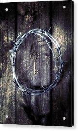 Key Of A Treasure Chest Acrylic Print by Joana Kruse
