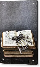 Key Ring Acrylic Print by Joana Kruse